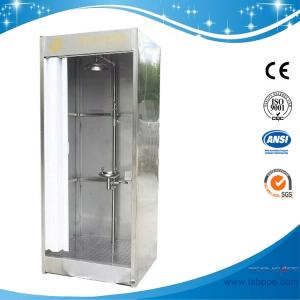 Quality SH786B-Emergency shower & eyewash booth,stainless steel with water/waste tank for sale
