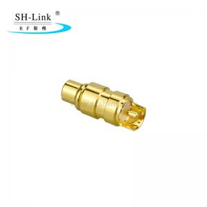 China RF Coaxial MMCX Male/Plug connector gold Color MMCX-J5 MMCX earphone rf coaxial cables rf coaxial RG316/174/58/59 cables on sale