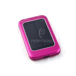 China 3000mAh Solar Portable Mobile Power Bank  , Solar Mobile Phone Charger , iPad Charger on sale