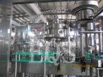 Máquina de rellenar de la cerveza de la botella del acero inoxidable BGF6-6-1 con la torsión del casquillo