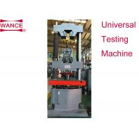 Bolts Nuts Wedge Loading Proof Hydraulic Load Testing Machine 1000Hz Frequency