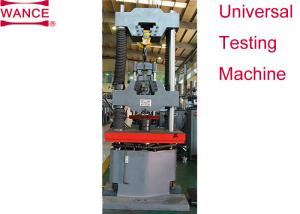 China Bolts Nuts Wedge Loading Proof Hydraulic Load Testing Machine 1000Hz Frequency on sale