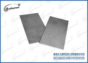 China 100% Raw Tungsten Carbide High Metal Carbide Plates With Good Wear Resistance on sale