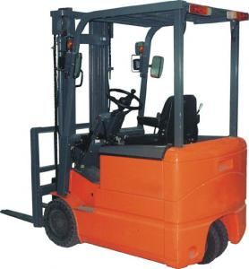 China electric battery operated fork lift on sale