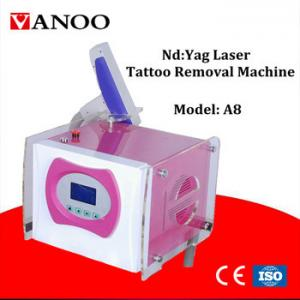 China Professional Laser Tattoo Removal Machine , Q Switch Yag Laser Machine 1 Head on sale