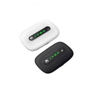 China Black Huawei Mobile 3G Wifi Router , 3G Pocket Mobile Wireless Hotspot on sale