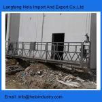 Philippines galvanized steel ZLP800 temporary gondola working platform building maintenance unit