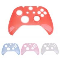 Crystal Clear Plastic Front Face Cover Shell Protector for Xbox One Controller
