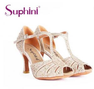 China Cheap price rhinestone women sandal for party dance on sale