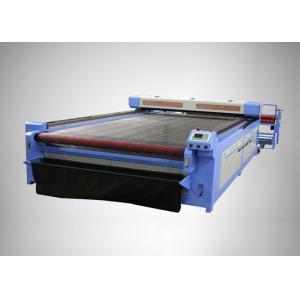 China Garment Fabric CO2 Laser Engraving Machine , cloth laser cutting machine on sale