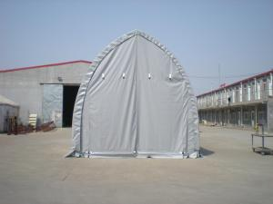 5m Wide Rectangle Tubing Fabric Shelter Storage Building Portable