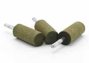 China Cylindrical Rubber Abrasive Mounted Points For Steel Parts Internal Polishing on sale