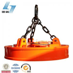 China Crane,Excavator Lifting Magnet for Scraps on sale