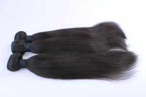 China Top Quality 10inch 100% Human Hair Natural Black Silky Stright Hair Weave on sale