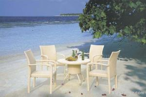 China Stylish Elegant UV Philippine Dining Table Set Indoor / Outdoor Furniture for Living Room on sale