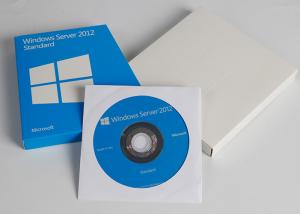 China Activated Online Microsoft Windows Server 2012 Standard Retail Box DVD Key Card on sale