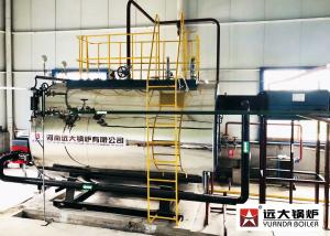 China Package 10 Ton Gas Diesel Oil Fired Industrial Steam Boiler For Pharmaceutical on sale