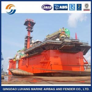 China Sunken salvage airbag/ inflatable rubber air bag/ cassion lifting pneumatic rubber airbag on sale