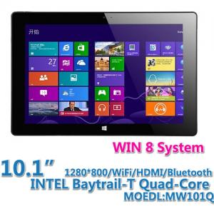 China Windows 8 Tablet PC  MW101Q on sale