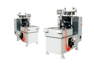 China Servo Electric Motor Coil Binding Machine Lacing Both Winding Heads Together on sale