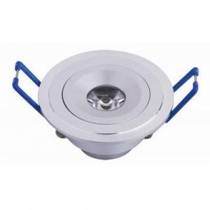 China energy-saving White 6000K 100-250VAC 1W Led Downlight Fitting for home and office on sale
