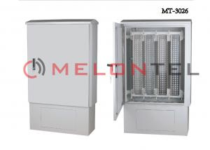 China 2400 Pair Network Distribution Box Cabinet With Installation Accessory on sale