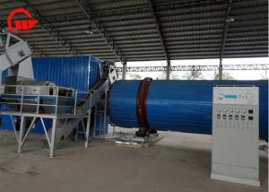China Large Capacity Cassava Chips Drying Machine , Spent / Pig Hair Rotary Air Dryer on sale
