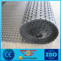 China PVC Coated Polyester Geogrid Pet Geogrid with Ce Marking on sale