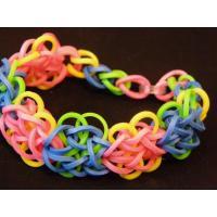 Fashion Jewelry Sports Silicone Rainbow Loom Bracelets Round Bead