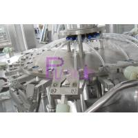 3 In 1 Monoblock Plastic Bottle Filling Machine For Mineral Water 18 Head