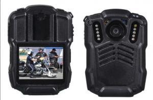 China 128GB 4G Body Worn Camera Police Body Worn Video Camera , Black on sale