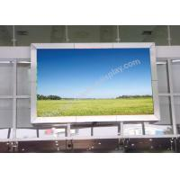Advertisement High definition Outdoor Fixed LED Display board with MBI5124 IC