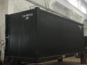 China Standard 20ft Bitumen Container With Direct Burner Heating Tubes on sale
