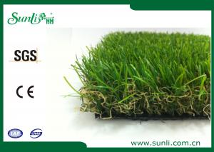 China Four Colors PE+PP Garden Artificial Grass Decoration Roof And Landscape Anti-UV on sale