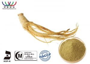China Siberian Ginseng Extract Light Yellow Fine Powder , Ginseng Leaf Extract AAAAA Grade on sale