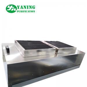 Stainless Steel Cleanroom Ffu , Ceiling Mounted Hepa Filter