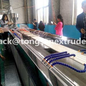 China plastic profile extrusion linePVC WPC wall panel extrusion machine on sale