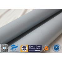 0.5mm Rubber Silicone Coated Fiberglass Fabric Fire Blanket Fiber Glass Cloth