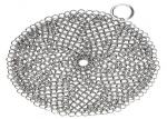 Kitchen Round 316l Chainmail Scrubber For Cast Iron Cookware With No Rust