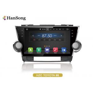 China 2012 Toyota Highlander Car DVD Player Internet Entainment / Game 12V on sale