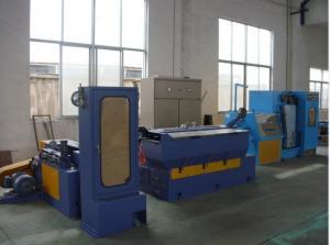 China máquina de cobre media de alta velocidad del trefilado 17DST con el recocido continuo on sale