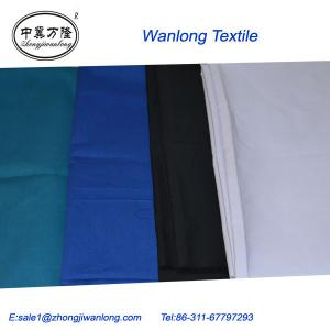 China hot selling tc 45*45 110*76 poly cotton poplin tc fabric on sale