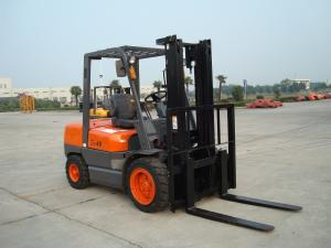 China Yellow Color 4 Ton Forklift , Warehouse Lift Truck Max Lift Height on sale