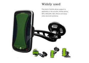 China Wireless Portable Universal Mobile Phone Car Holders For Ipad PDA Blackberry , MP4 , GPS , Cell Phone on sale