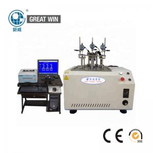 China Softening Point Testing Hdt Vicat Testing Machine Used To Measure Plastic Material on sale