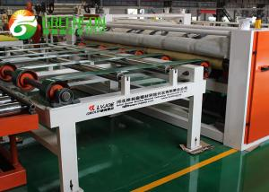 China Fully Automatic Cutting Machine For PVC Laminated Gypsum Board Ceiling Tiles on sale