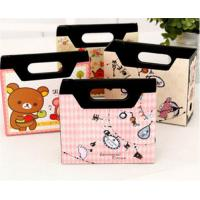 China DIY Makeup Cosmetic Stationery Paper Board Storage Box Desk Decor Organizer on sale
