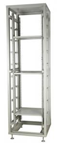 China Telecom Network Frame / Network Server Cabinet Open Rack With Adjusted Fixing Panel on sale