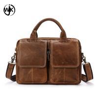 top quality mens leather briefcase laptop bag online shopping custom shoulder bag men