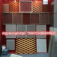 China Malla de aluminio ampliada mesh/5052 ampliada aluminio anodizada on sale
